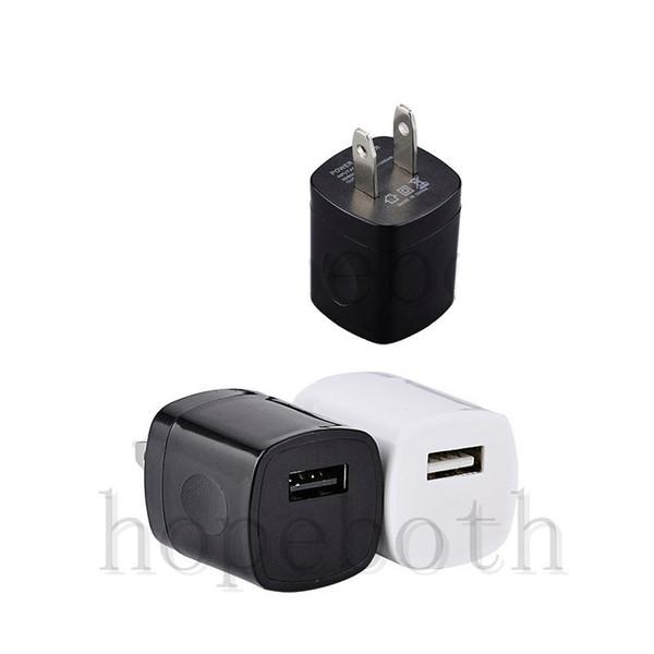 USB AC Зарядное Устройство Отпечатков Пальцев 1A Домашнее Зарядное Устройство Адаптер Mini USB зарядное устройство Для Samsung Huawei Смартфонов mp3 pc Бесплатная Доставка