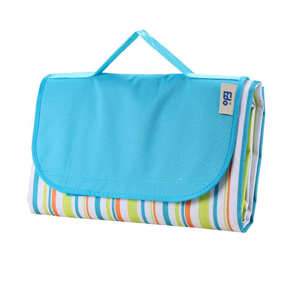145*180cm Outdoor Camping Blanket Waterproof Foldable Oxford Cloth Picnic Mat for Picnicking Grass Beach Travelling