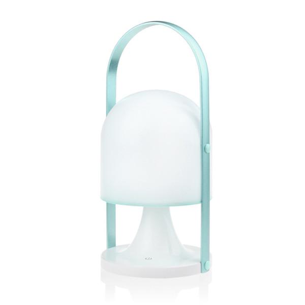 1 unids Lámpara de Escritorio de Carga Portátil Nórdico Simple Interruptor de Contacto LED que Amortigua la Iluminación Al Aire Libre Lámpara de Mesa de Lectura Del Estudiante
