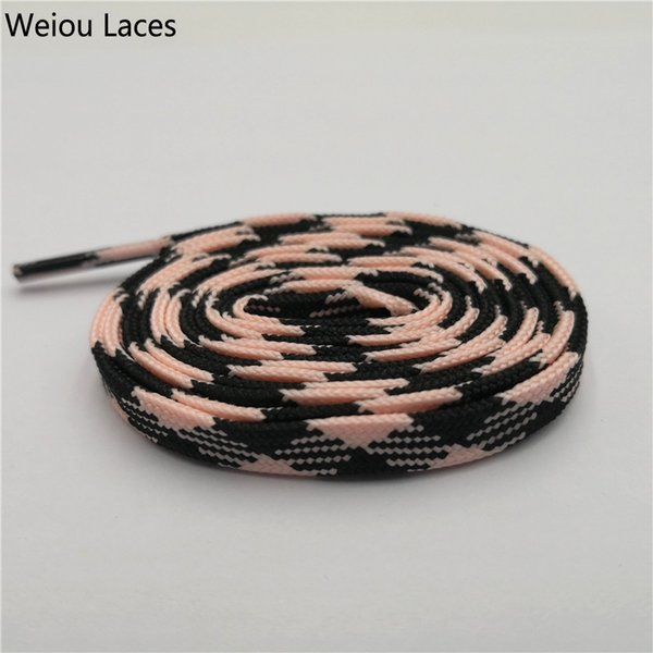 1343 Black-Glow Pink 120cm