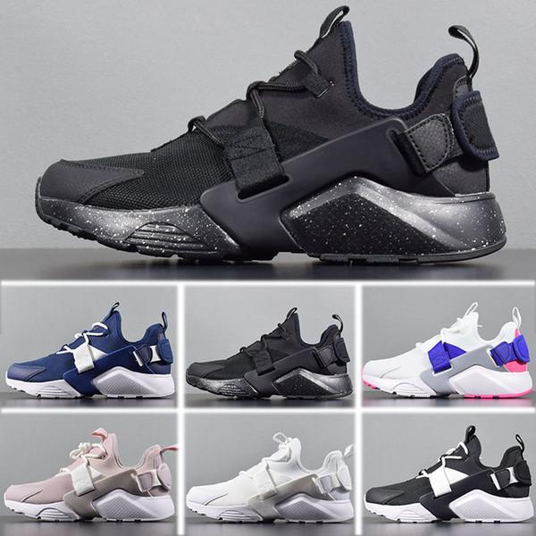 11b3d871360b4 ... zapatos kds de halloween. Nike Air Huarache City Low men shoes Nike Air  Huarache Run Ultra Clásico Triple Blanco Negro