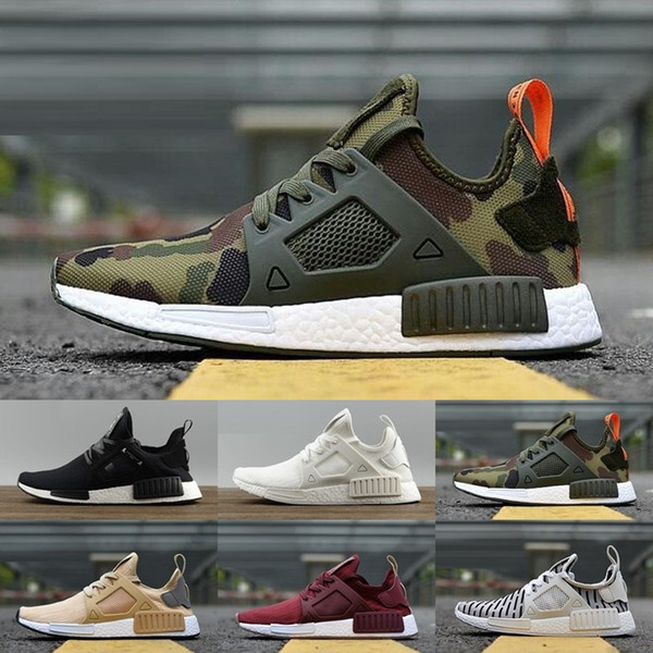 quality design 553ef 49496 Hot NMD XR1 Runner Mastermind Japan MMJ Black White Men Women Running Shoes  Sneakers Originals NMDs Runner Primeknit Boost Sport AdiDas Gold Shoes ...