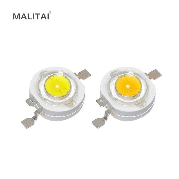 10 adet CREE Yeterince Gerçek 1 W Yüksek Güç LED lamba Led Diyot ampul 110-120LM Çip SMD 3-18 W Spot ışık Downlight Ampul