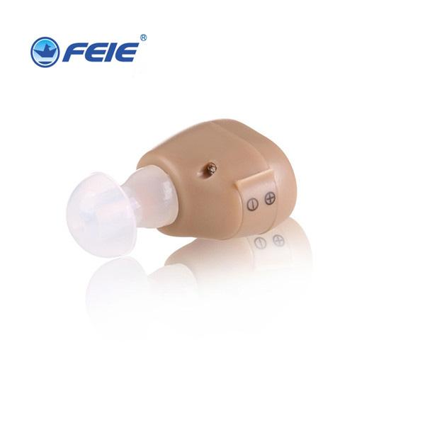 Hot Sale Adjustable Mini Small Invisible Sound Amplifier Hearing Aid In Ear Sound Enhancement Deaf Aid S-213