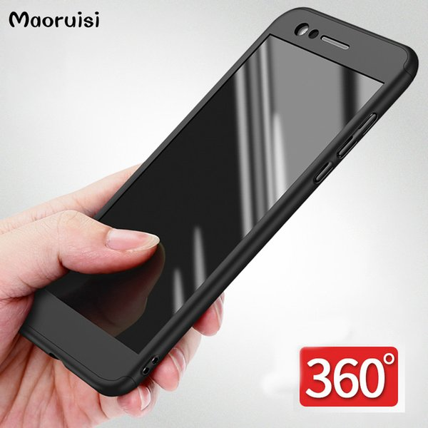 Phone Case For Huawei Honor 8 Honor 9 Case Luxury Hard 360 Full Cover For Huawei P20 P20 P10 Lite Pro Case With Tempered Glass bags