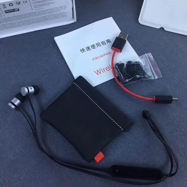 Bluetooth Kopfhörer drahtloses Kopfhörer In-Ohr Geräusch, das Kopfhörer annulliert Zutreffendes drahtloses Stereo für iphone ipad Samsung LG Smart phone Drop Ship