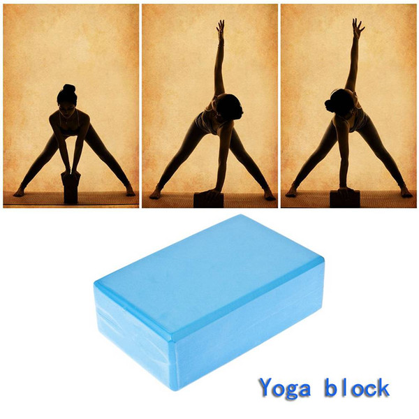 New Home Exercise Fitness workout Tool Good Material EVA Yoga Block for physical therapy Brick Foam Sport Tools