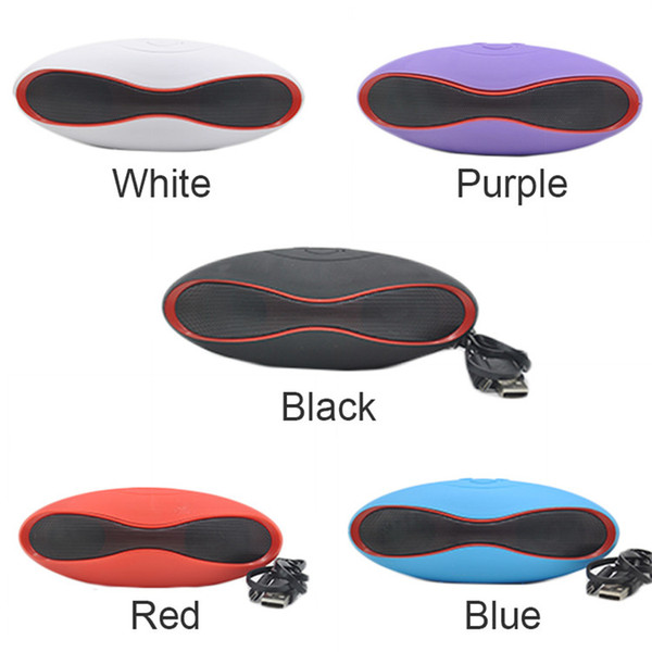 Mini X6 Bluetooth Speaker Portable Wireless Speaker with TF Card Audio Player Music Smart Hands-free Speakers with Retail Box