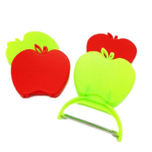 Qihang_top High Quality Portable Home Peeling Knife Small Manual Foldable Apple Shaped Fruit Peeler Peeling Price