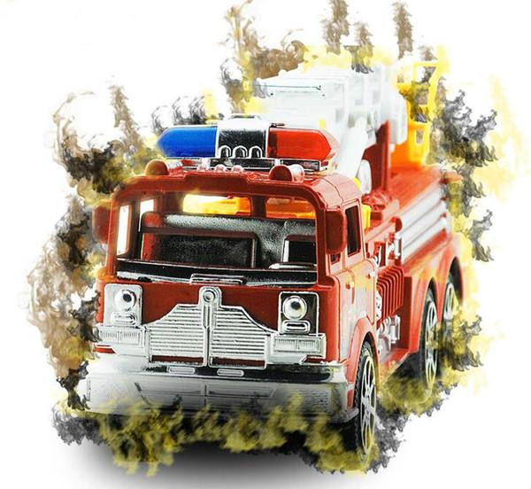 Çocuk atalet oyuncak araba büyük ölçekli simülasyon merdiveni yangın kamyon / kamyon itfaiye modeli oto oyuncaklar Çapraz sınır sıcak satış toptan