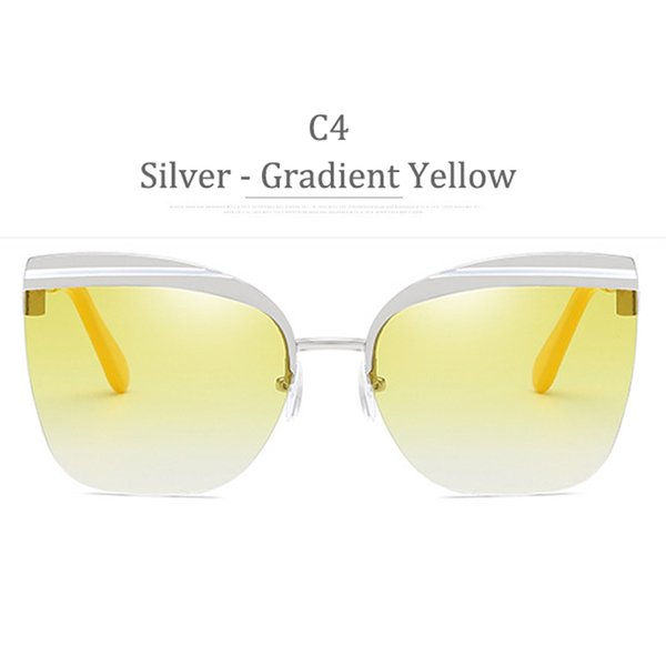 C4 Silver Frame Gradient Yellow