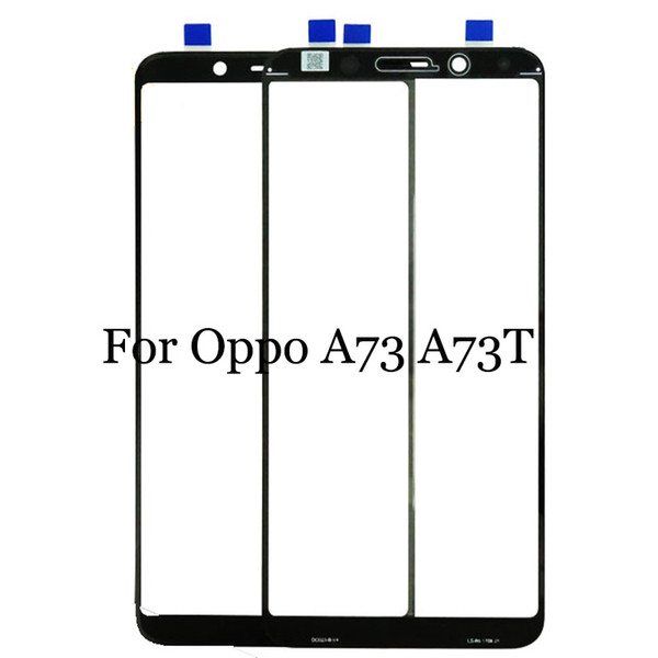 For Oppo A73 A73T Black White Touch Screen Digitizer Sensor Replacement touch panel with flex cable Perfect Repair Parts