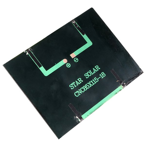 12V 1.5W Solar Panel Standard Epoxy Polycrystalline Silicon DIY Battery Power Charge Module 115x85mm