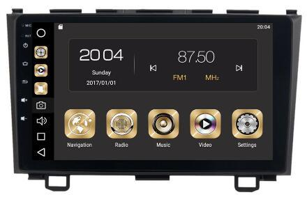8-Core 4GBRam 32GB Rom Android 8.0 9inch Car Dvd Gps for Honda CRV 2006 2007 2008 2009 2010 2011 Radio Multimedia GPS NAVI