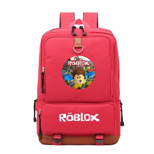 Roblox Game Casual Backpack for teenagers Kids Boys Children Student School Book Bags travel Shoulder Bag Unisex Laptop Bags