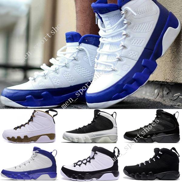 2018 Homme pas cher Sport Sneakers 9 Bryant PE Blanc Concord Tour blue Purple 302370-121 Chaussures de Basket KB Bryant Chaussures de Sport TAILLE 7-13