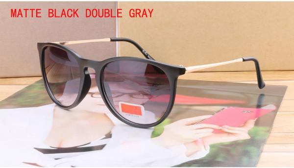 mat noir double gris