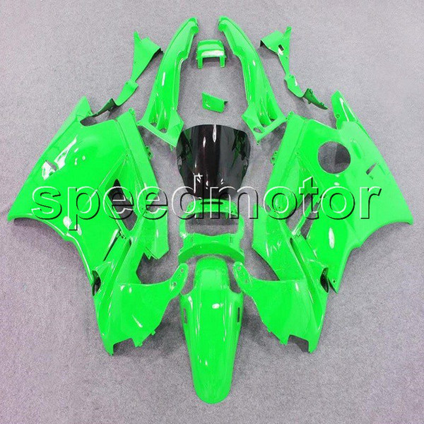 23colors+Gifts green motorcycle cowl Fairing for HONDA CBR600 F2 1991 1992 1993 1994 600F2 91 92 93 94 ABS plastic kit