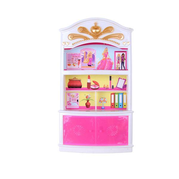 Princess Bedroom Drawer Locker Kids Doll Furniture Toy Wardrobe Storage  Cabinet Garderob Lockers Dolls Accessories Kids Dolls House Wooden Barbie  ...
