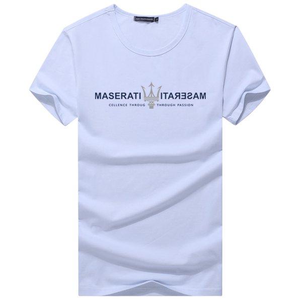 Maglietta allentata sottile degli uomini di estate Maglietta 3D di grandi dimensioni di stampa del cotone divertente Top Tees Maglietta rigonfiamento di fitness degli uomini di forma fisica 6XL 7XL 8XL