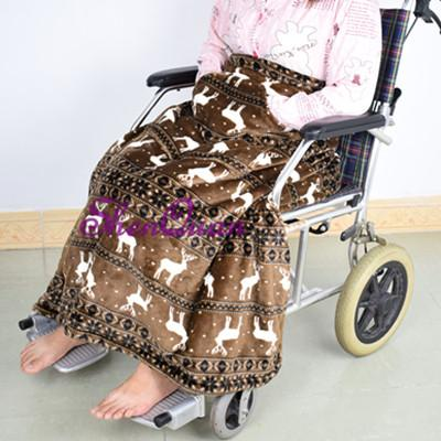 Wheelchair blanket with pockets,adult wheelchair cosies , fleece lined & universal fit. easy to fit, includes compact stuff sac for storage
