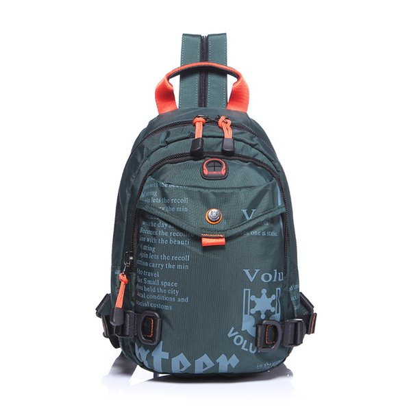 2018 new fashion trend men's backpack casual sports mini backpack student bag travel bag chest bag