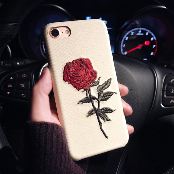 coque roses fleurs iphone 7