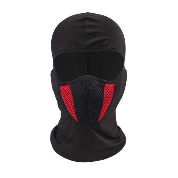 Windproof Elastic Hood Winter Face Mask Lycra with Mesh for Cycling Skiing Motorcycle Snowboard B2Cshop