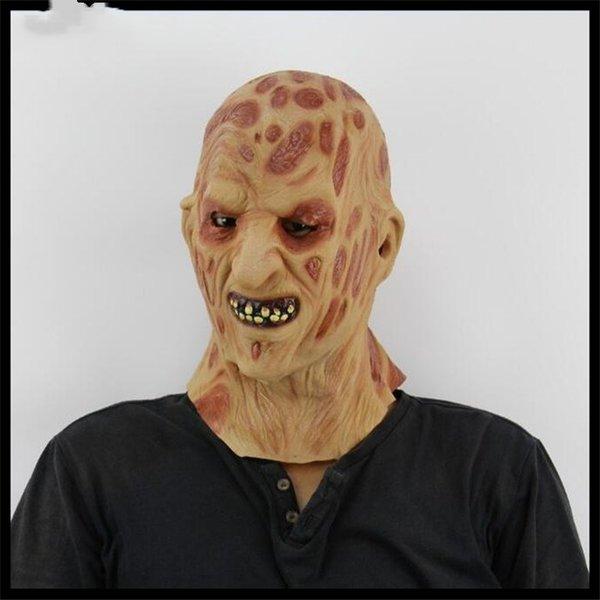 Halloween Horror Requisiten des Spukhauses Variant Dämon Masken Eine gehende Leiche Blut saugen Zombie Masken