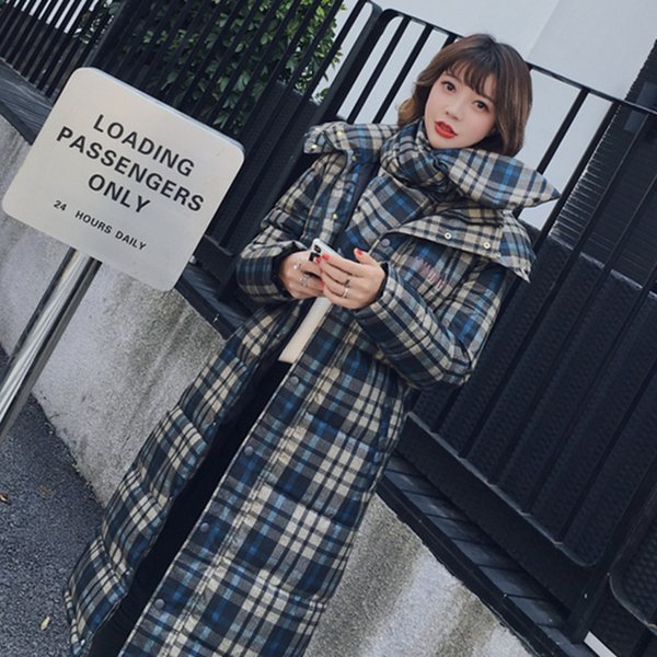 2018 Winter Coat Women Down Parkas Korean Style FashiCotton Padded Long Jacket Warm Winter Women Jacket