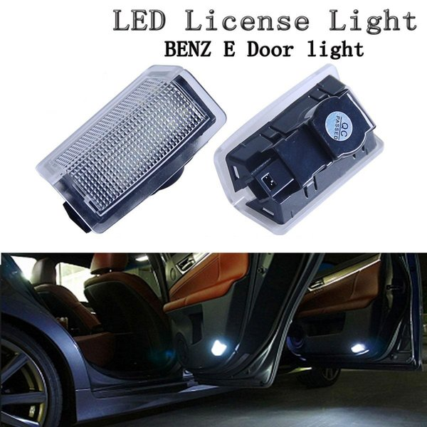 2Pcs LED Step Courtesy Door Light Bienvenido Lámpara para Benz A B C E M ML GL Clase W212 W166 W176 W204 W167