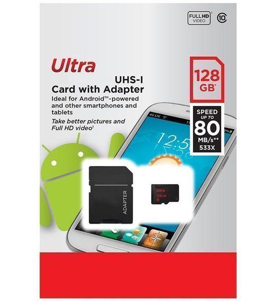 Para teléfono Android 128 GB 64 GB 32 GB 16 GB Clase 10 Tarjeta de memoria Ultra 256 GB UHS-1 U1 Tarjeta TF