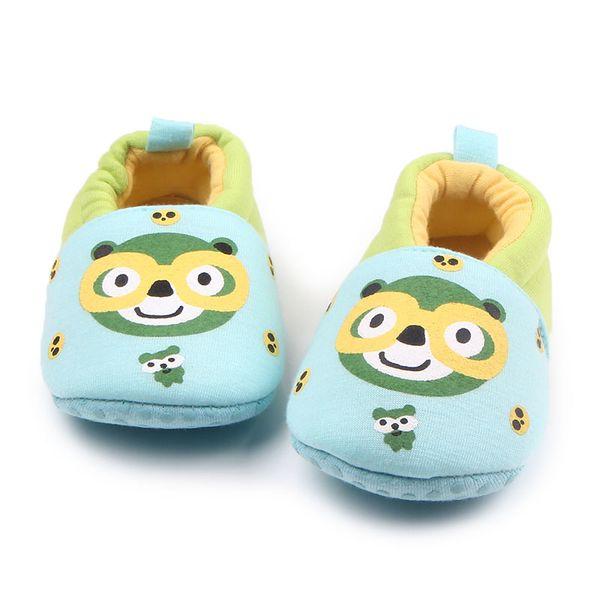 Новое Прибытие Зима Теплая Мягкая Подошва Животных Отпечатки Хлопок Младенческой Малыш Милый Ребенок Девочка Мальчик Prewalk Обувь Для 0-15 Месяцев