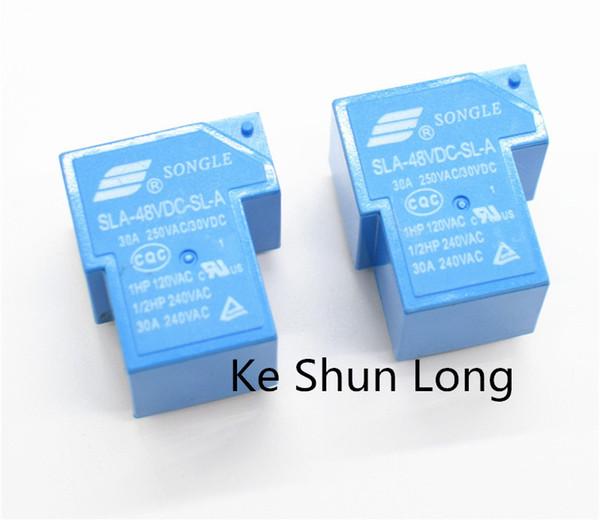 New  SONGLE  relay  SLA-48VDC-SL-C   free shipping