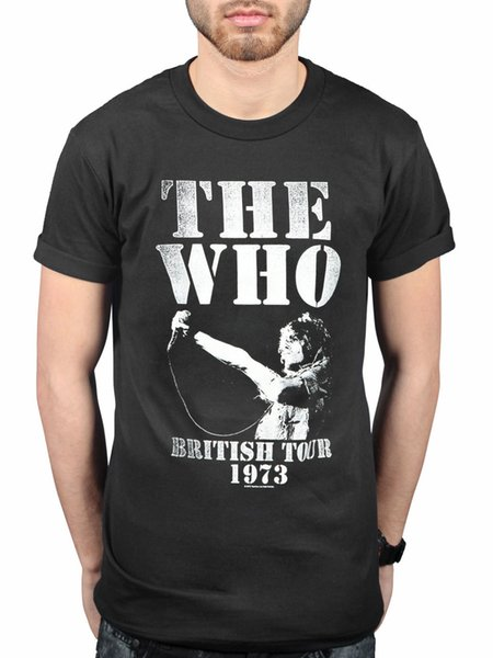 Offizielle The Who British Tour 1973 T-Shirt Endlosdraht Quadrophenia The Seeker
