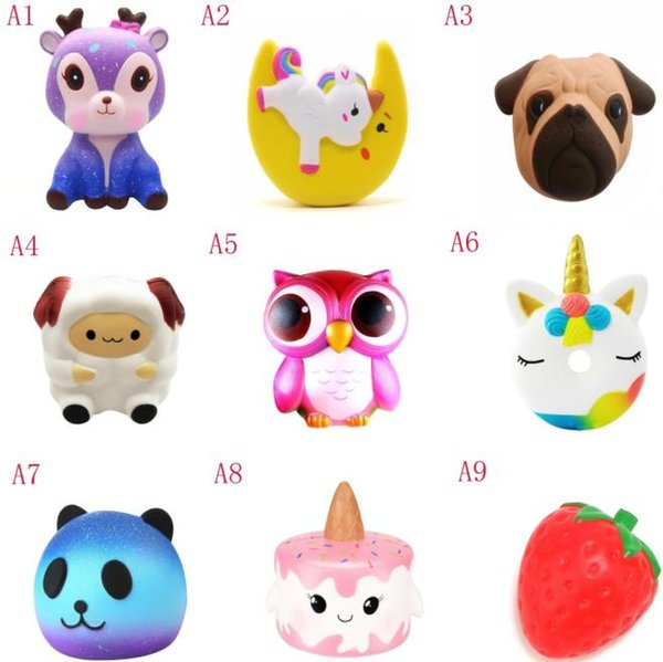 squishy toy Soft toy dog poop, slowly rising 9cm-13.5 cm soft squeeze cute mobile phone with gift pressure children stress relief toys