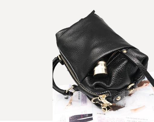 Women's bag new leather handbags ladies multicolor fashion shoulder messenger bag first layer leather clutch bag female