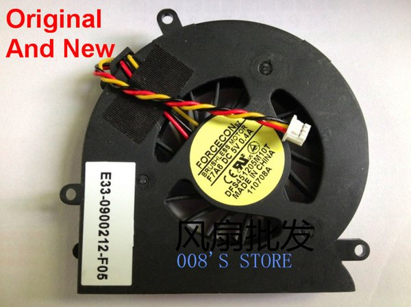New Notebook CPU Cooler Fan For MSI PR200 Radiator DFS451205M10T F7A6 E33-0900212-F05 DC 5V 0.4A