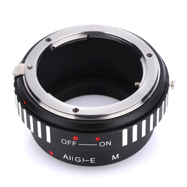Q24254 BGNING Camera Lens Adapter Ring AI(G)-EF.M for Nikon AI D S G Lens to for Canon EF-M EOS-M EFM EOSM M2 M3 EOSM5 EOSM6 M10 Camera