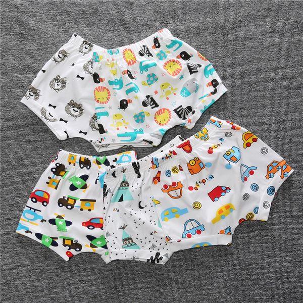 Girls boy shorts Children Fruits Bloomers Kids Girls Boys Shorts Pattern nature of the car Children Summer Clothes