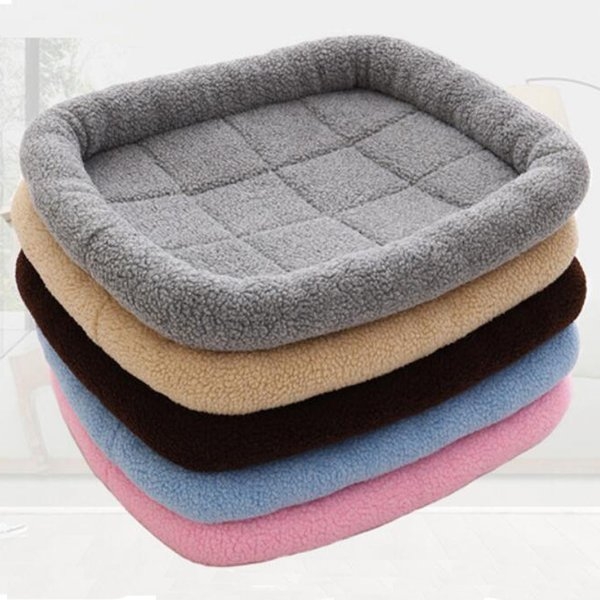 Wholesale- Autumn and Winter Pet Dog Sleep Warm Soft Cushion Mattress Cats Dogs Mat Puppy Blanket Bed Pad Hot Sale for Free Shipping