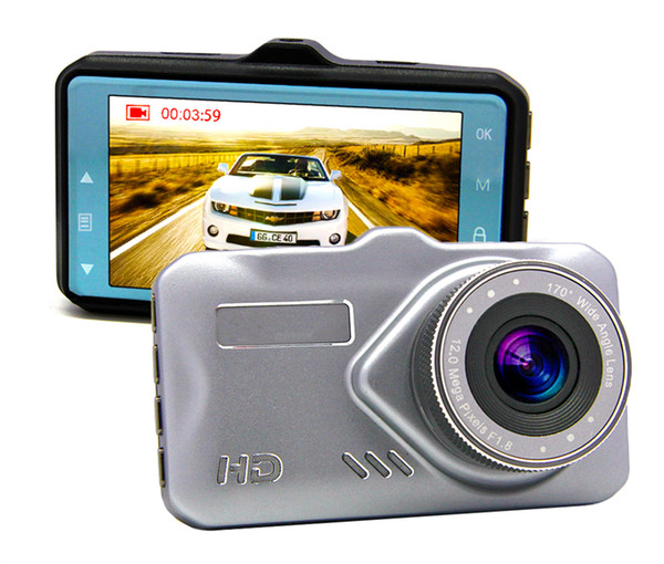 Full HD 1080P car DVR camera digital data recorder vehicle driving video camcorder 3 inch 170° WDR G-sensor motion detection parking monitor