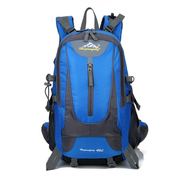 Silanda Sports 40L Anti Tearing Waterproof Shoulder Hiking Backpacks Multi Functional Quick Dry Outdoor Traveling Cycling Climbing Bags