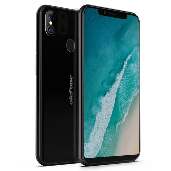"""Ulefone X Android 8.1 Mobile Phone MT6763 Octa Core 4GB RAM 64GB ROM Face ID 3300mAh Wireless Charge 5.85"""" HD+ Smartphone"""