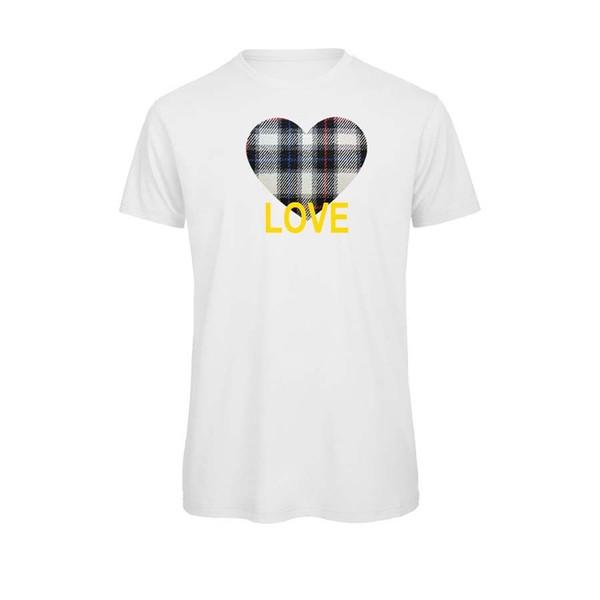 Camiseta Unisex Orgánica Algodon Corazón Ajedrez Azul Love Frases Amor Buy Tees Funniest T Shirt From Any7 1319 Dhgatecom