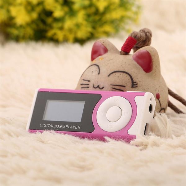MX-803 Lecteur MP3 Numérique Avec Clip Écran LCD Lumière LED Stéréo Super Bass