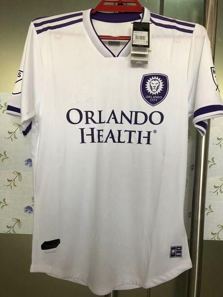 New 2018 2019 Player version Orlando City Soccer Jersey 18 19 best quality SHEA COLLIN KAKA football shirts S-2XL