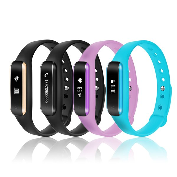 C6 Multifunctioal Bracelet OLED 0.69 Inch Display Bluetooth 4.0 Sleep Running Track Wristband For Android Smart Watch 2018 New