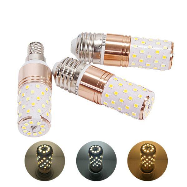 E14 E27 LED Lampe 3 Farbtemperatur Integrierte Maisbirne Kronleuchter Kerze Lampe 12 Watt 16 Watt SMD2835 Lampada Ampulle Bombilla AC85-265V