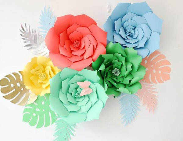 Decorazioni Fai Da Te Per Feste : Acquista carta fai da te tartaruga foglia foglie di palma sfondo